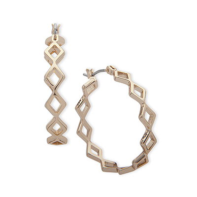 Ivanka Trump Geometric Hoop Earrings