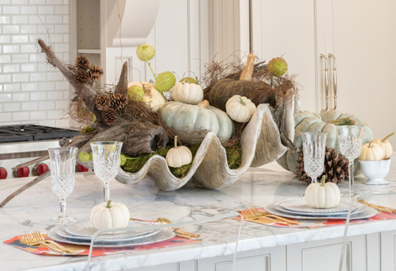 an interior decorator s thanksgiving tablescape by ivanka