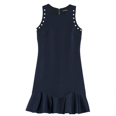 Ivanka Trump Pearl Sleeveless Dress